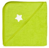 Dreambee Badcape Essentials ster lime