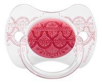 Suavinex Sucette 0 - 4 mois Couture rose-Avant