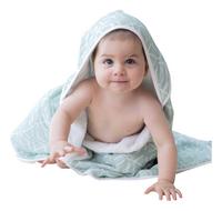 Posh Baby Cape de bain geo menthe-Image 2