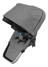 Thule Zitje voor wandelwagen Sleek Grey Melange-Rechterzijde