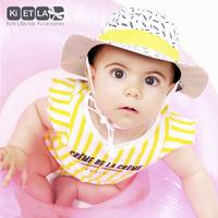 Ki ET LA Chapeau Zig Zag blanc/or de 9 à 18 mois-Image 1