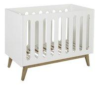 Quax Chambre de bébé 3 pièces avec armoire 2 portes Trendy blanc-Détail de l'article