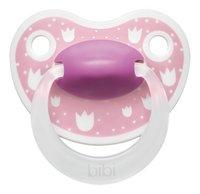 Bibi Fopspeen + 6 maanden Happiness Lovely Dots blauw/roze/groen-Artikeldetail