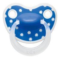 Bibi Fopspeen + 6 maanden Happiness Lovely Dots blauw/roze/groen-Vooraanzicht