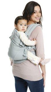 Babylonia Porte-bébé combiné Flexia soft grey-Image 3