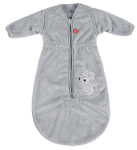 Pericles Winterslaapzak Mouse Grey fleece 70 cm