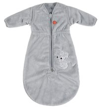 Pericles Winterslaapzak Mouse Grey fleece 70 cm-Vooraanzicht