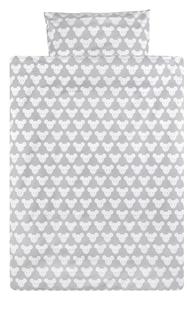 Pericles Housse de couette pour lit Mouse Grey allover coton