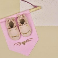 Robeez Chaussures Goldy Cat rose clair-Image 1