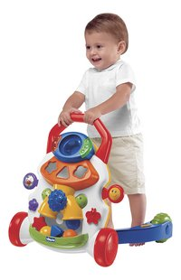 Chicco Pousseur Baby Steps Activity Walker blanc-Image 1