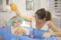 OK Baby Haarwasring tegen shampoo Hippo-Afbeelding 1