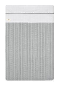 Jollein Laken voor wieg of park Crochet katoen small grey-Artikeldetail