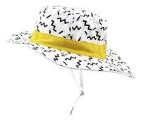 Ki ET LA Chapeau Zig Zag blanc/or de 9 à 18 mois-commercieel beeld