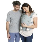 Babylonia Porte-bébé combiné Flexia soft grey-commercieel beeld