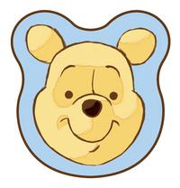 Pare-soleil Disney Winnie l'Ourson bleu/jaune - 2 pièces
