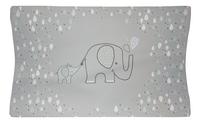 bébé-jou Waskussen Ollie olifant grijs-Bovenaanzicht