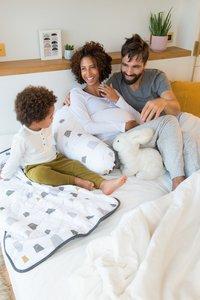 doomoo Positionerings- en borstvoedingskussen Buddy Bear grey-Afbeelding 6
