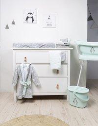 bébé-jou Cape de bain Lou-Lou pingouin menthe-Image 2