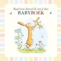Babydagboek Raad eens hoeveel ik van je hou