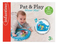 Infantino Jouet d'activité Sensory Pat & Play baleine-Avant