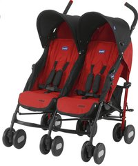 Chicco Buggy Duo Echo Twin rouge