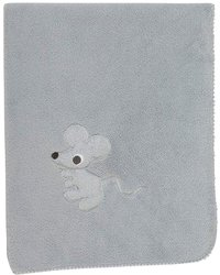 Pericles Deken voor bed Mouse Grey teddy-Artikeldetail