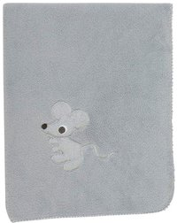 Pericles Deken voor wieg of park Mouse Grey teddy-Artikeldetail