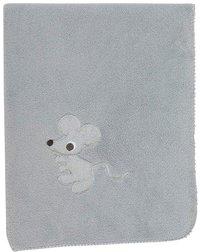Pericles Couverture pour berceau ou parc Mouse Grey teddy-Détail de l'article