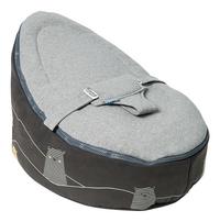 doomoo Pouf Seat Bear grey-Côté gauche