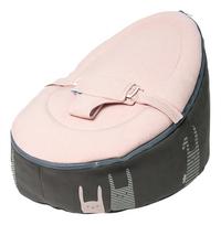 doomoo Pouf Seat Rabbit pink-Côté droit