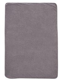 Dreambee Couverture pour lit Ayko gris clair coton/polyester-Arrière