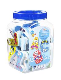 DreamLand Badspeelgoed letters & cijfers - 41 stuks-Vooraanzicht