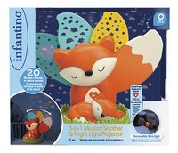 Infantino Nachtlampje/projector Wom Fox-Vooraanzicht