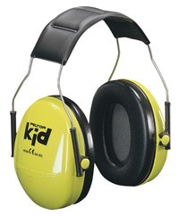 3M Casque antibruit Peltor Kid vert