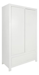 Troll Armoire 2 portes Loft décor blanc