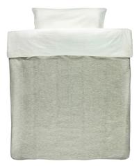 96b0a4889cc Les Rêves d Anaïs Housse de couette pour lit Powder Stripes coton polyester