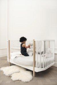 Les Rêves d'Anaïs Dekbedovertrek voor bed Powder Stripes katoen/polyester-Afbeelding 4