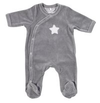 Dreambee Pyjama Essentials ster grijs maat 50/56