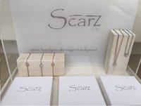 Scarz by Mika Vingerafdrukjuweel Met gravure zilver/goud/rosé FR-Afbeelding 2