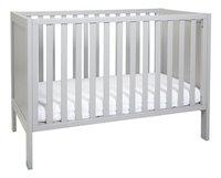 Troll Lit de bébé Loft warm grey