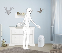 Diaper Champ Poubelle à langes-Image 2