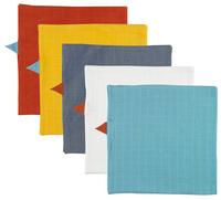 Dreambee Tetradoek Essentials in hippe kleuren - 5 stuks