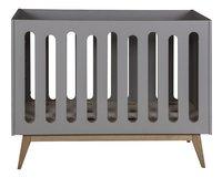 Quax Lit de bébé Trendy griffin grey 120 x 60 cm