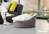 doomoo Pouf Seat Home taupe-Image 2