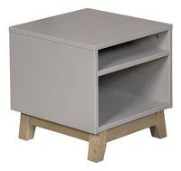 Quax Table de nuit Trendy griffin grey-Côté gauche