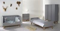 Quax Chambre 4 éléments avec armoire 3 portes Trendy griffin grey-commercieel beeld
