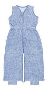 Bemini Sac de couchage d'été Aulit tissu-éponge bleu chiné 85 cm