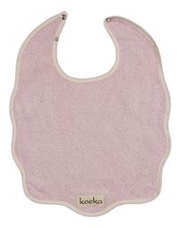 Koeka Slabbetje Rome met drukknoppen baby pink