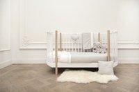 Les Rêves d'Anaïs Dekbedovertrek voor bed Powder Stripes katoen/polyester-Afbeelding 1