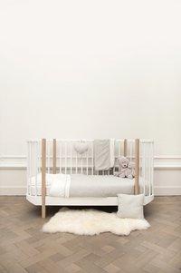 Les Rêves d'Anaïs Dekbedovertrek voor bed Powder Stripes katoen/polyester-Afbeelding 3